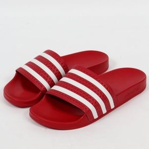 Adidas Red Sandals *NEW*